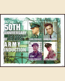 Elvis - Army Induction
