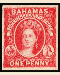 Bahamas First Stamp