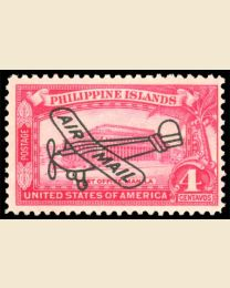 4c Airmail Overprint
