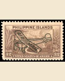 32c Airmail Overprint
