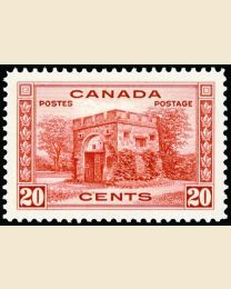 #243 20¢ Fort Garry