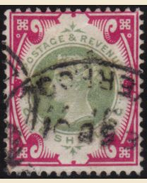 Great Britain #126 - Used, F