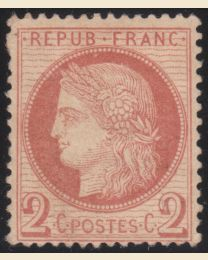 France # 51 - Mint hinged, F-VF