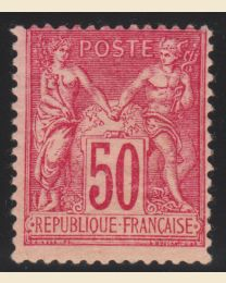 France #101 - Mint hinged, F