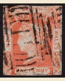 New South Wales # 13 - Used, F-VF