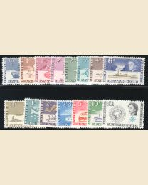 British Antarctic Territory #   1-15
