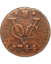 VOC Copper Duit Coin
