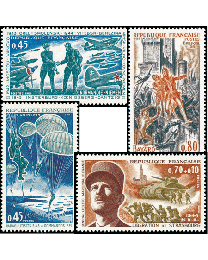 1969 France Commemorative Year Set