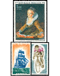 1972 France Commemorative Year Set