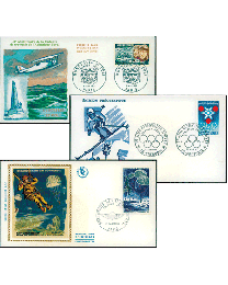 25 France First Day Covers