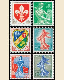 France New Definitives