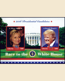 Race to the White House: Clinton and Trump