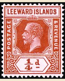 Leeward Islands George V