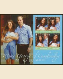 BIRTH OF PRINCE GEORGE