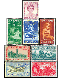 New Zealand Commemoratives 1946 to date