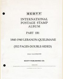 1840-1940 Lebanon - Quelimane Part 1B1