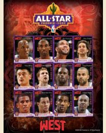 NBA West All Stars