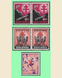South Africa Bilingual Christmas Seals
