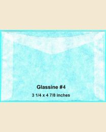 #4 Glassine Envelopes