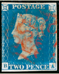 World's Second Postage Stamp