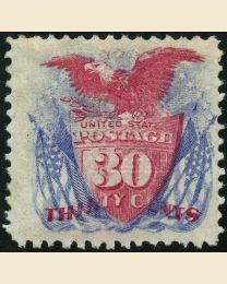 # 121 - 30¢ Shield & Eagle