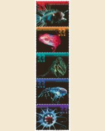 #3439S- 33¢ Deep Sea Creatures