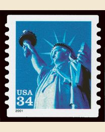 #3466 - 34¢ Statue of Liberty