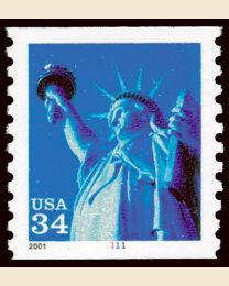 #3476 - 34¢ Statue of Liberty