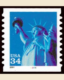 #3477 - 34¢ Statue of Liberty