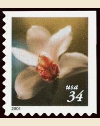 #3488 - 34¢ Lilies Booklet 10 1/2 x 10 3/4