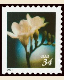 #3489 - 34¢ Lilies Booklet 10 1/2 x 10 3/4