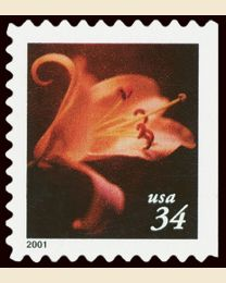 #3490 - 34¢ Lilies Booklet 10 1/2 x 10 3/4