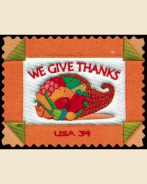 #3546 - 34¢ We Give Thanks