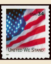 #3549 - 34¢ United We Stand