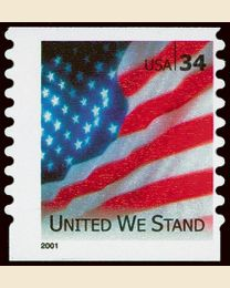 #3550 - 34¢ United We Stand