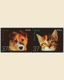 #3670S- 37¢ Neuter and Spay