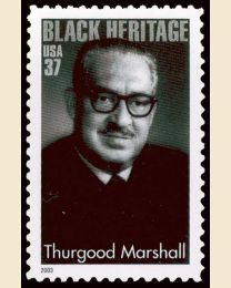 #3746 - 37¢ Thurgood Marshall
