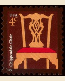 #3755 - 4¢ Chippendale Chair
