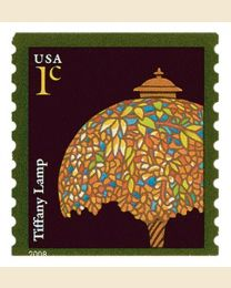#3758A- 1¢ Tiffany Lamp