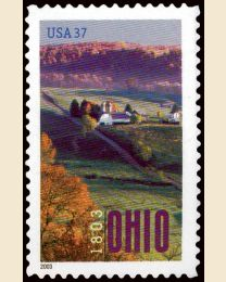 #3773 - 37¢ Ohio Statehood