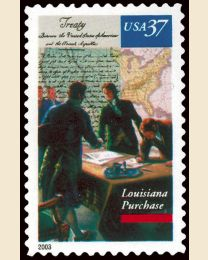 #3782 - 37¢ Louisiana Purchase