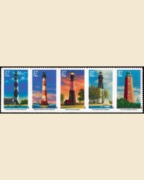 #3787S- 37¢ Southeastern Lighthouses