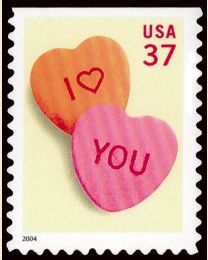#3833 - 37¢ Candy Hearts