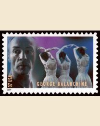 #3843 - 37¢ George Balanchine