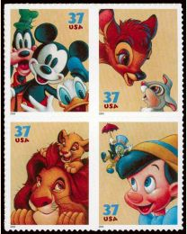 #3865S- 37¢ Disney: Friendship