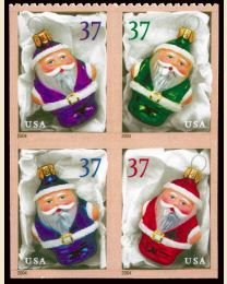#3887S- 37¢ Holiday Ornaments