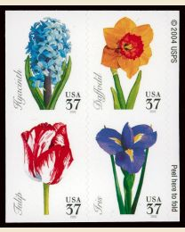 #3900S- 37¢ Spring Flowers