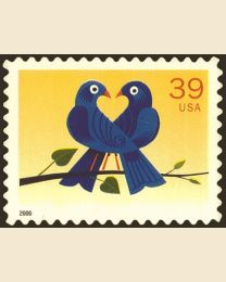#4029 - 39¢ Two Bluebirds Love