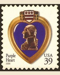 #4032 - 39¢ Purple Heart