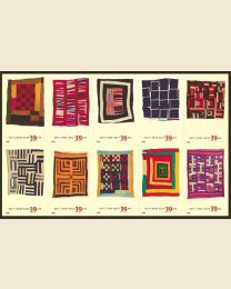 #4089S- 39¢ Gee's Bend Quilts